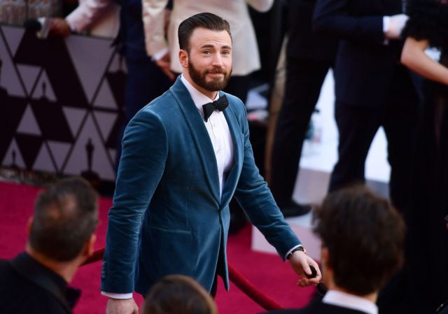 Chris Evans attends the 91st Annual Academy Awards on Feb. 24, 2019