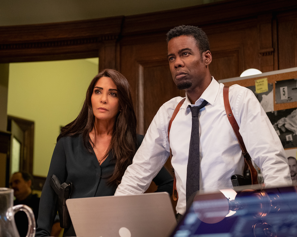 Saw sequel Spiral: Marisol Nichols and Chris Rock
