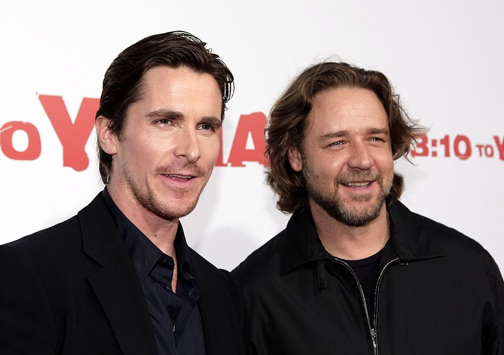 3:10 to Yuma: Christian Bale and Russell Crowe