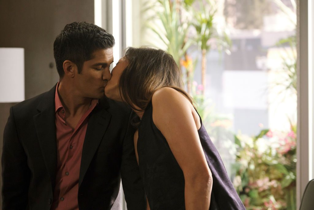 Nicholas Gonzalez and Christina Chang on The Good Doctor | Jeff Weddell via Getty Images