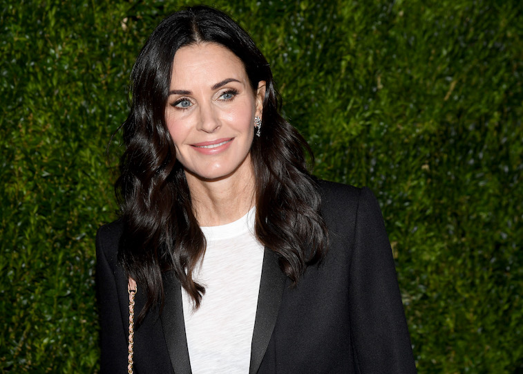 Courteney Cox on the red carpet