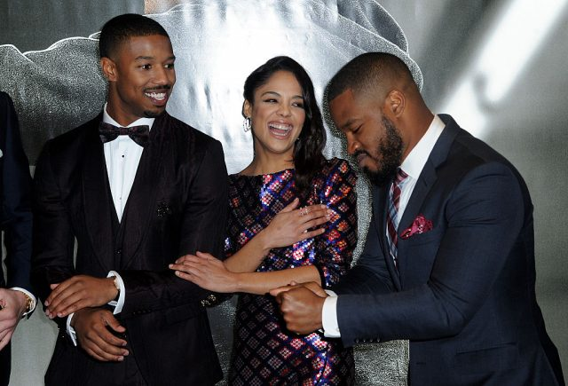 Michael B. Jordan, Tessa Thompson, and Ryan Coogler