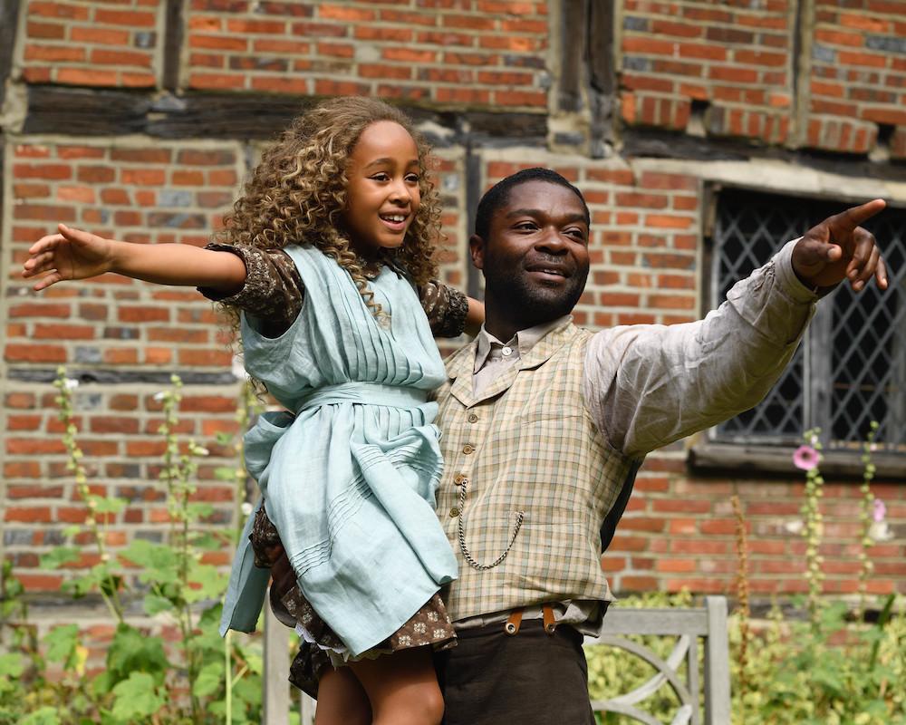 David Oyelowo and Keria Chansa