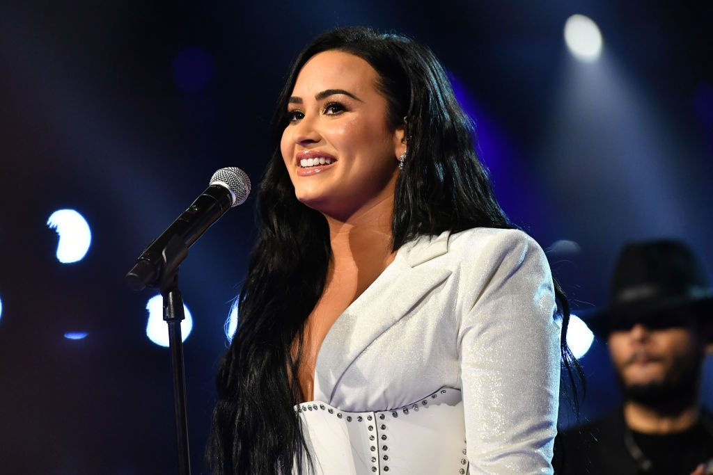 Demi Lovato performs onstage during the 62nd Annual GRAMMY Awards