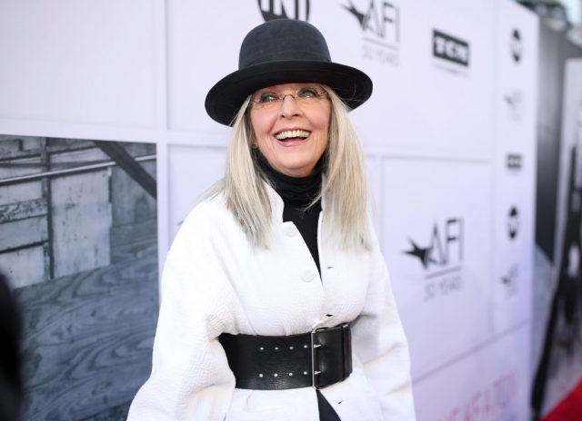 Diane Keaton arrives at American Film Institute's 45th Life Achievement Award Gala Tribute to Diane Keaton on June 8, 2017