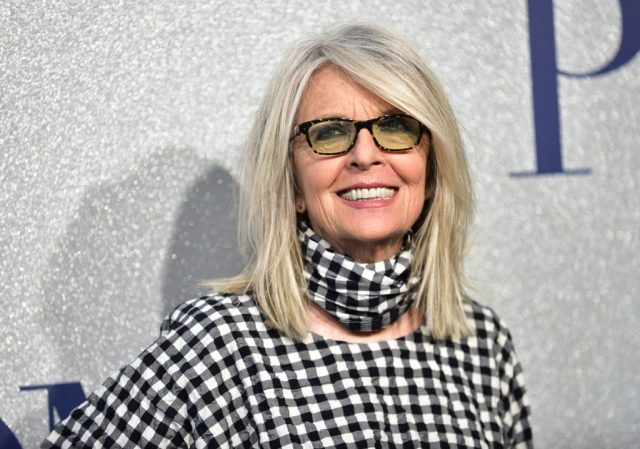 Diane Keaton attends the premiere of 'Poms' on May 1, 2019