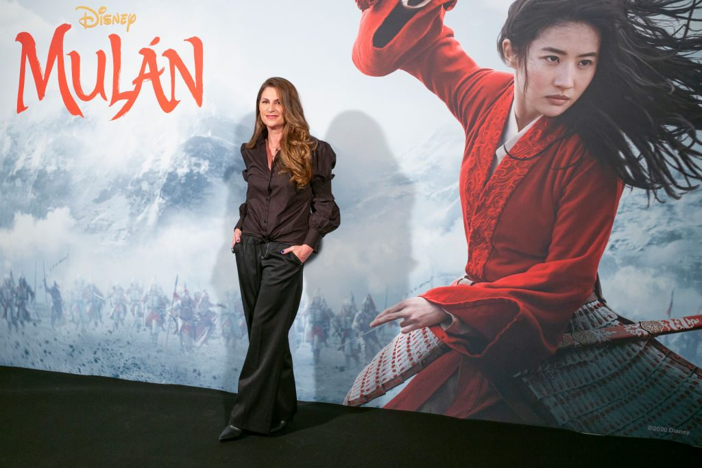Director Niki Caro poses for the photocall of the film 'Mulan'