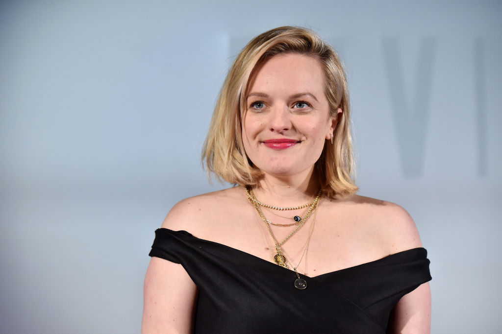 "Elisabeth Moss of ""The Handmaid's Tale"""