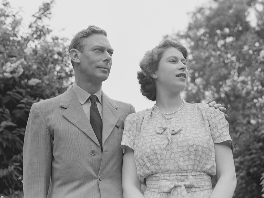 King George and Queen Elizabeth