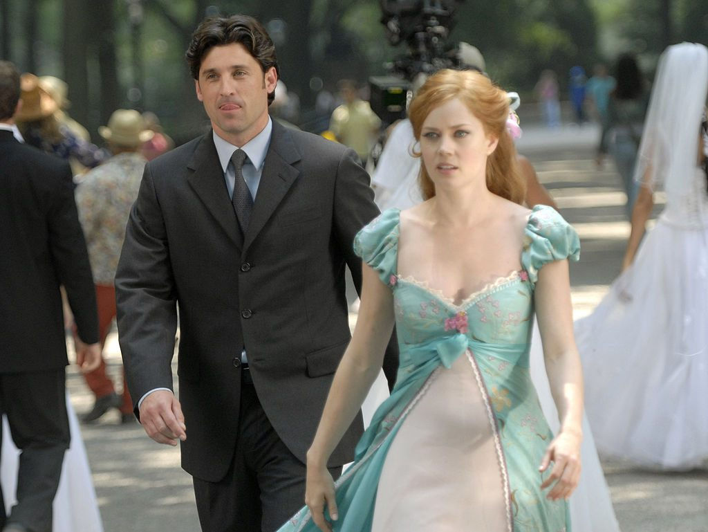 """Patrick Dempsey and Amy Adams of Disney's """"Enchanted"""""""