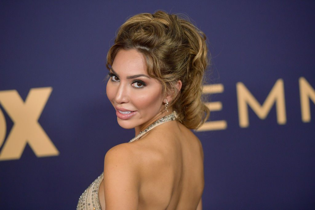 Farrah Abraham attends the 71st Emmy Awards at Microsoft Theater on September 22, 2019