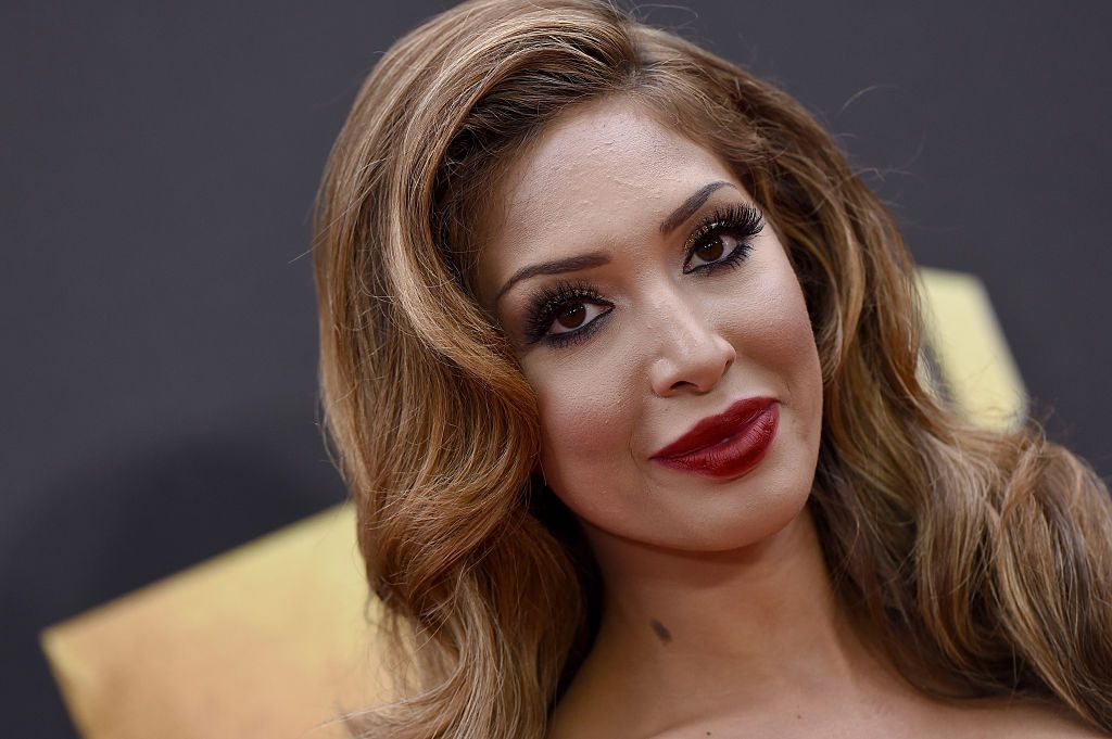 Farrah Abraham at an award show in 2016