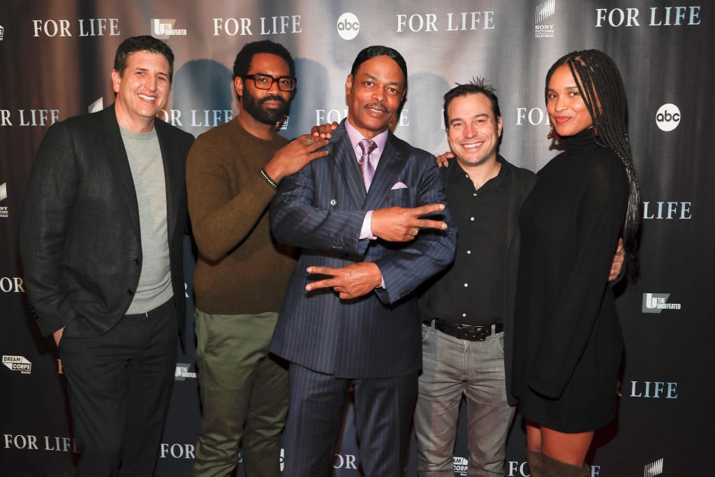 'For Life' cast and producers