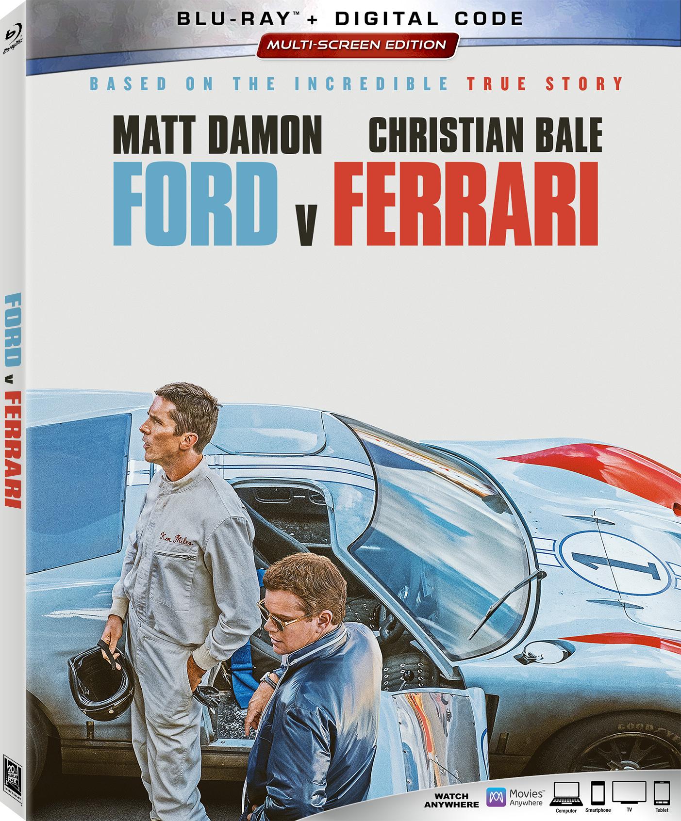 Ford v Ferrari Blu-ray