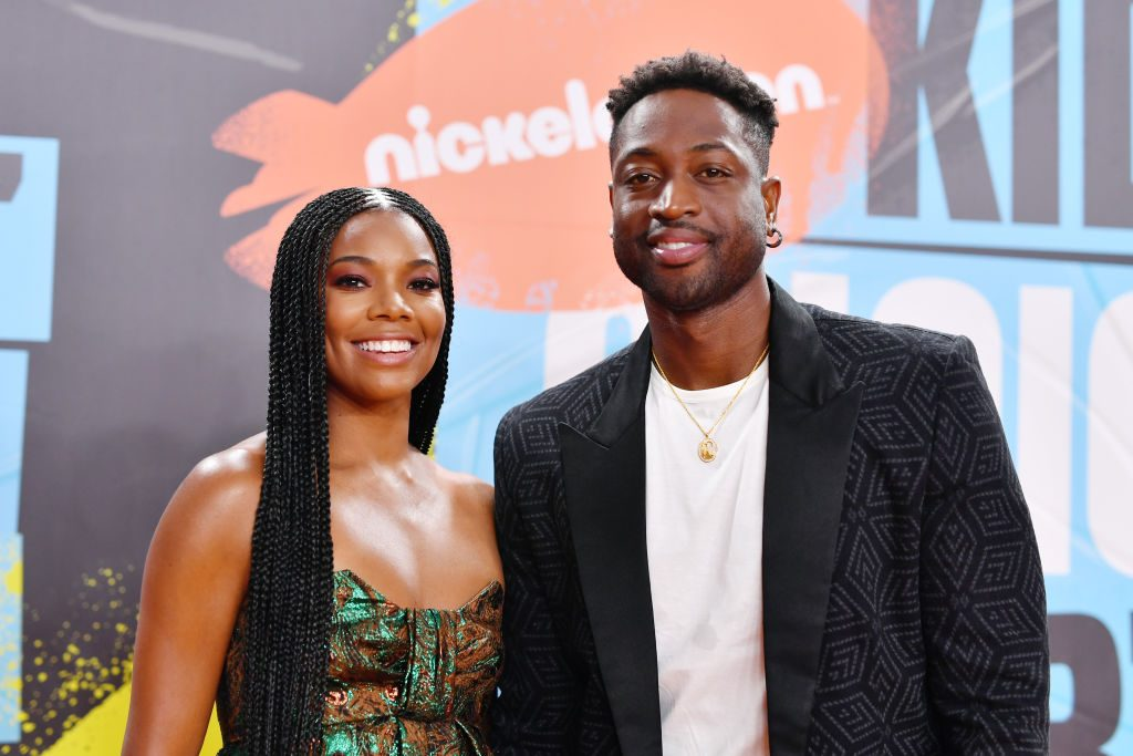 Gabrielle Union and Dwyane Wade on the red carpet in 2019