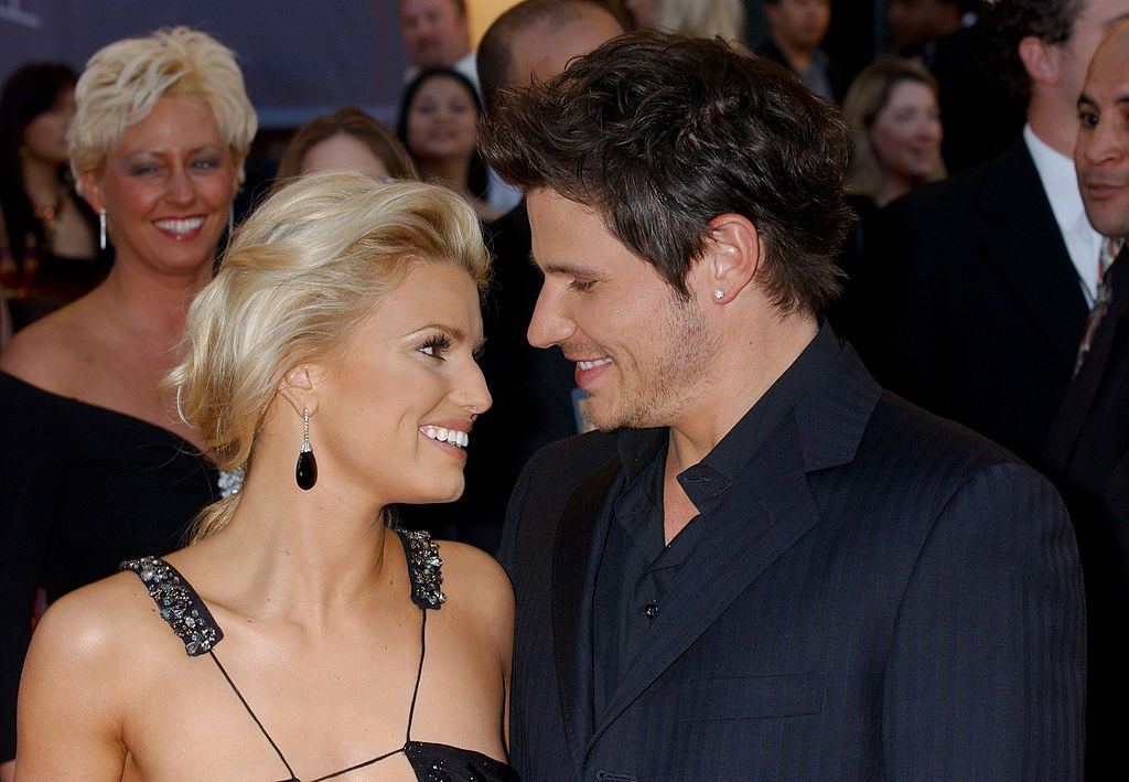 Jessica Simpson and Nick Lachey