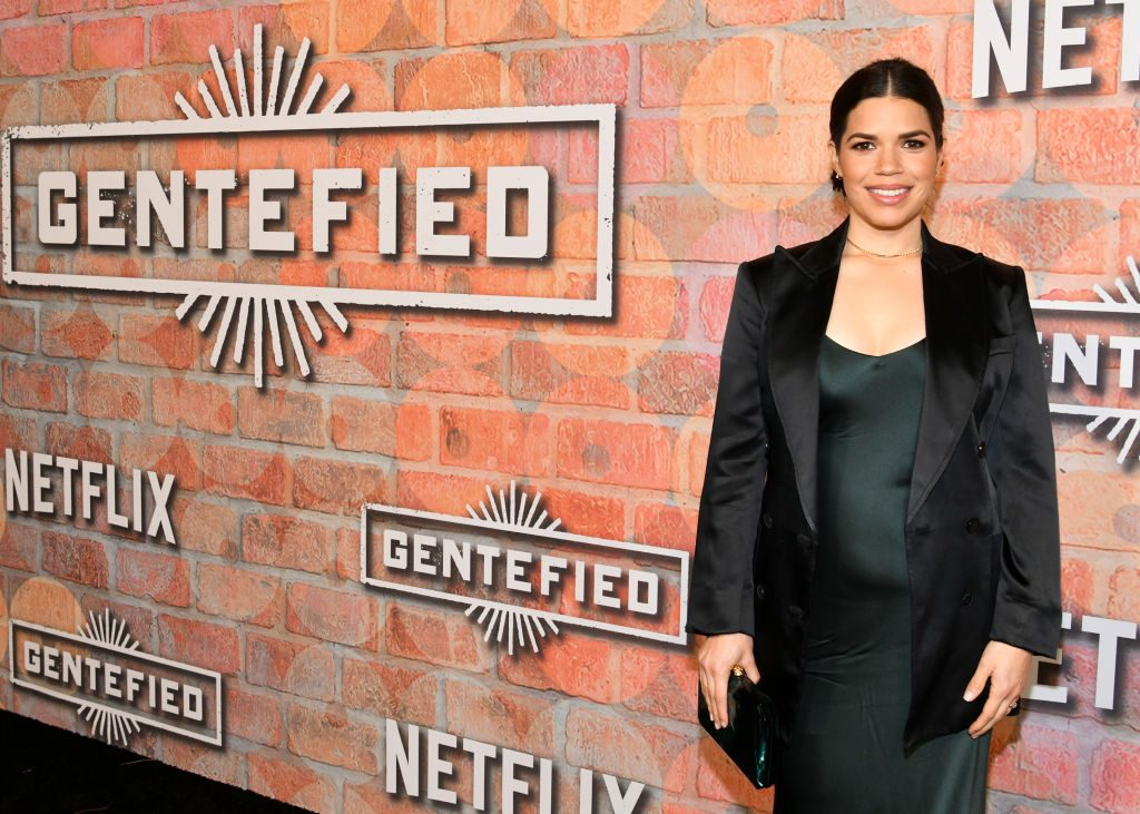 America Ferrera attends the premiere of Netflix's 'Gentefied' this week
