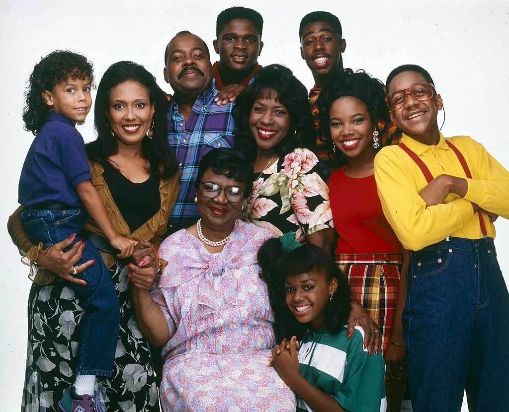 The cast of 'Family Matters'