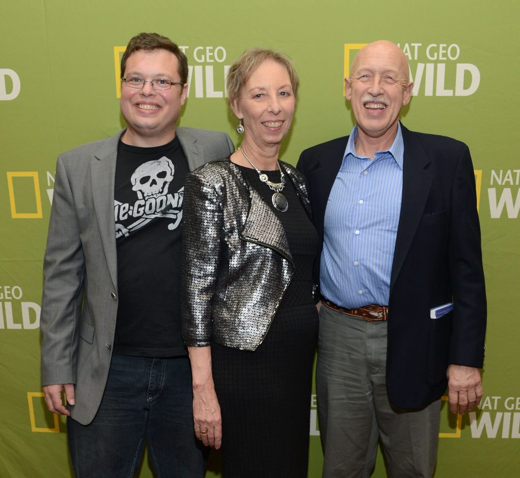 Charles, Diane, and Dr. Jan Pol of 'The Incredible Dr. Pol'