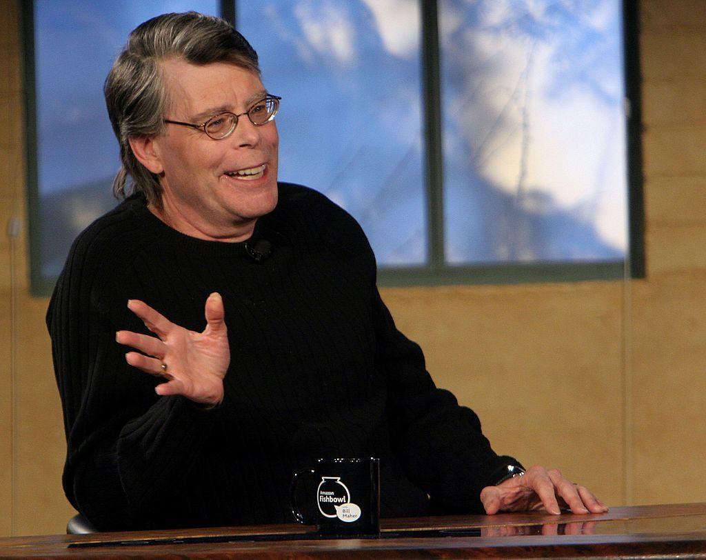 Author Stephen King