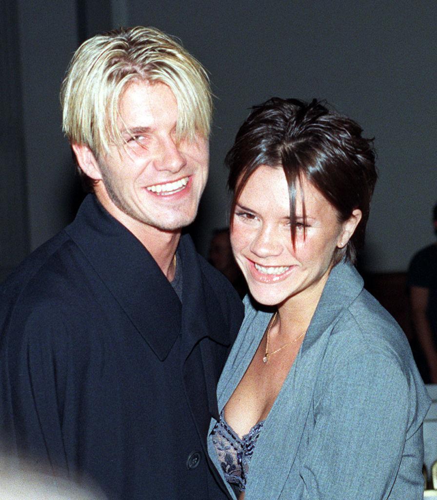 David and Victoria Beckham in 1998