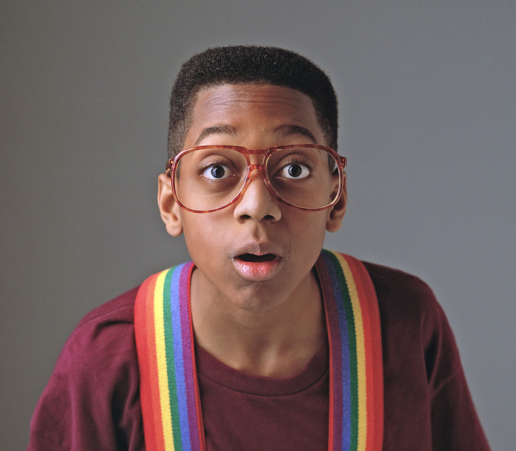 Jaleel White as Urkel from 'Family Matters'