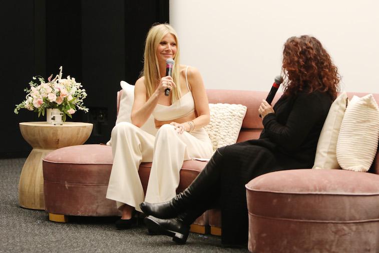 Gwyneth Paltrow and Michaela Boehm