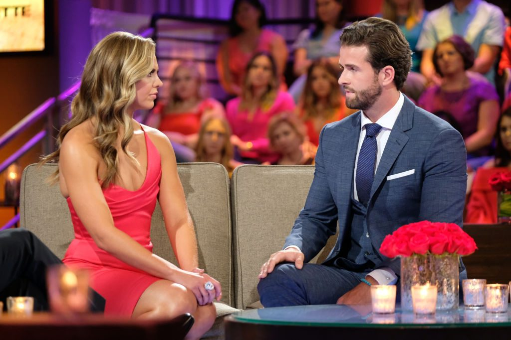 Hannah Brown and Jed Wyatt on 'The Bachelorette' finale