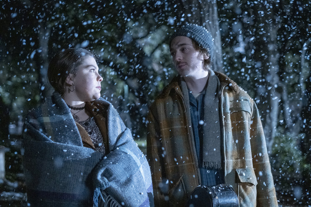 Austin Abrams as Marc, Hannah Zeile as Kate in This Is Us - Season 4 Episode 13