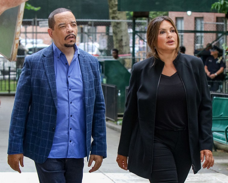 Mariska Hargitay and Ice-T
