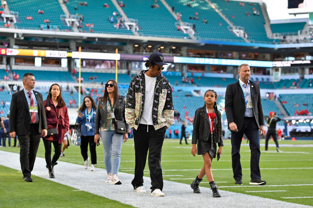 How Blue Ivy Beyonce And Jay Z Stole The Show At The 2020 Super Bowl