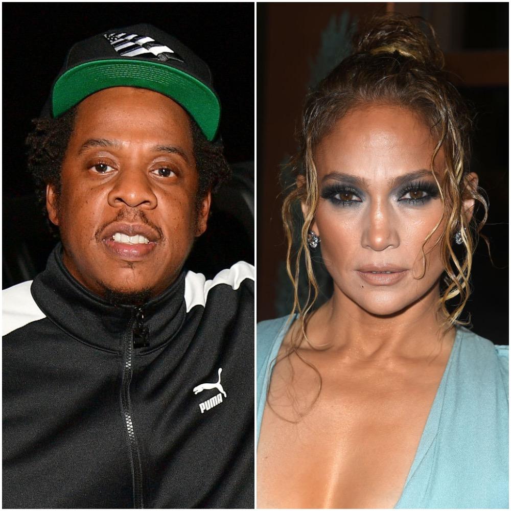 Jay-Z and Jennifer Lopez