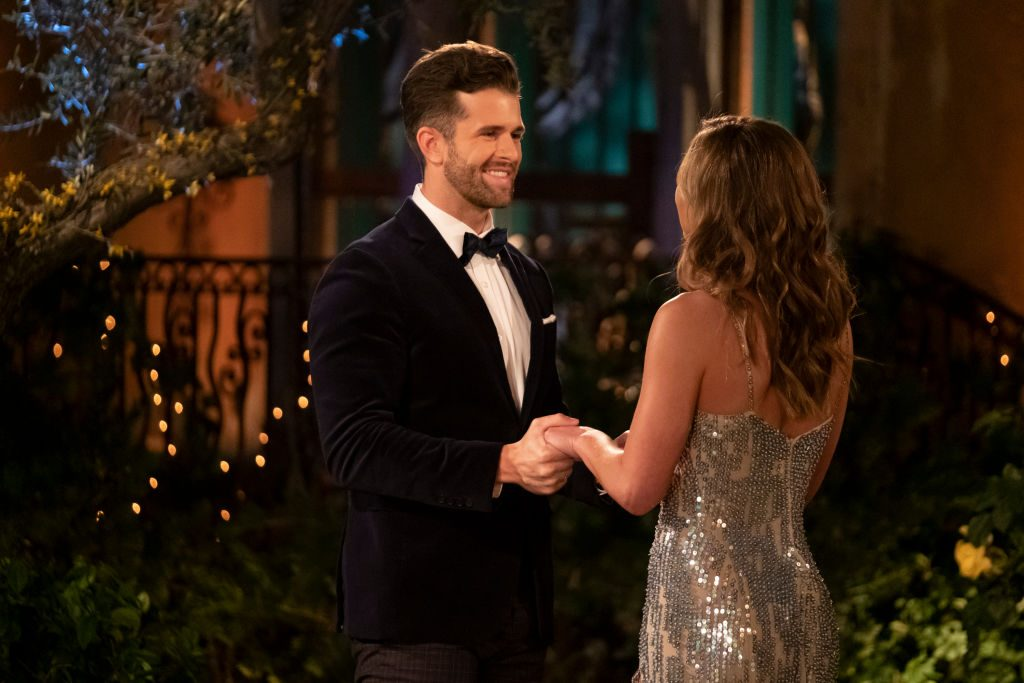 Jed Wyatt and Hannah Brown on 'The Bachelorette'