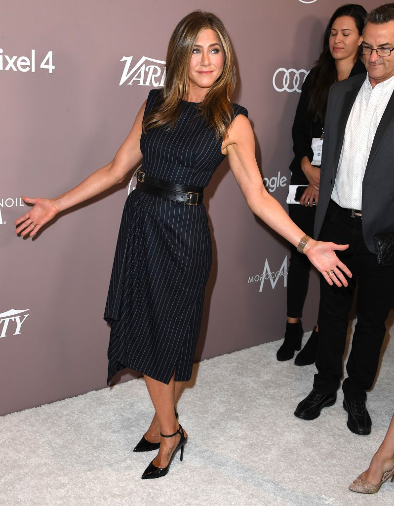 Jennifer Aniston arrives at the Variety's 2019 Power Of Women: Los Angeles