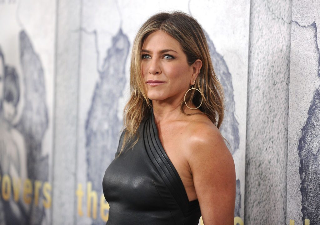 """Jennifer Aniston attends the season 3 premiere of """"The Leftovers"""" at Avalon Hollywood."""