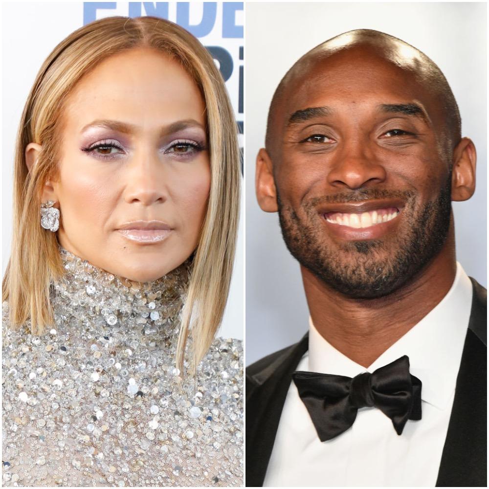 Jennifer Lopez and Kobe Bryant