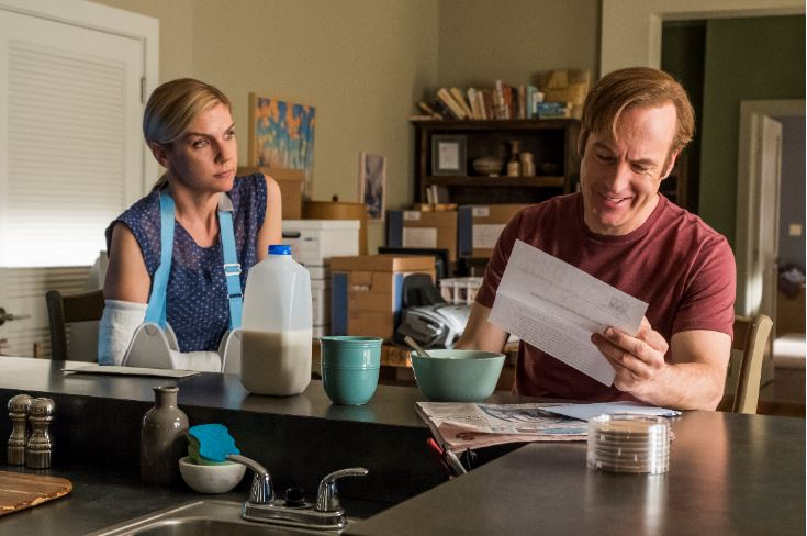 Jimmy and Kim on Better Call Saul