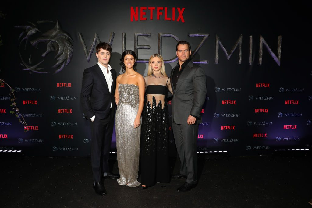 Joey Batey, Anya Chalotra, Freya Allan, and Henry Cavill of 'The Witcher': Geralt and Jaskier have a genuine friendship