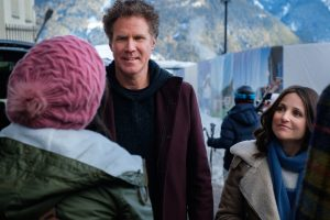 Julia Louis-Dreyfus and Will Ferrell Cringe Comedy 'Downhill' Makes You Squrim Like 'Veep' and 'Curb'
