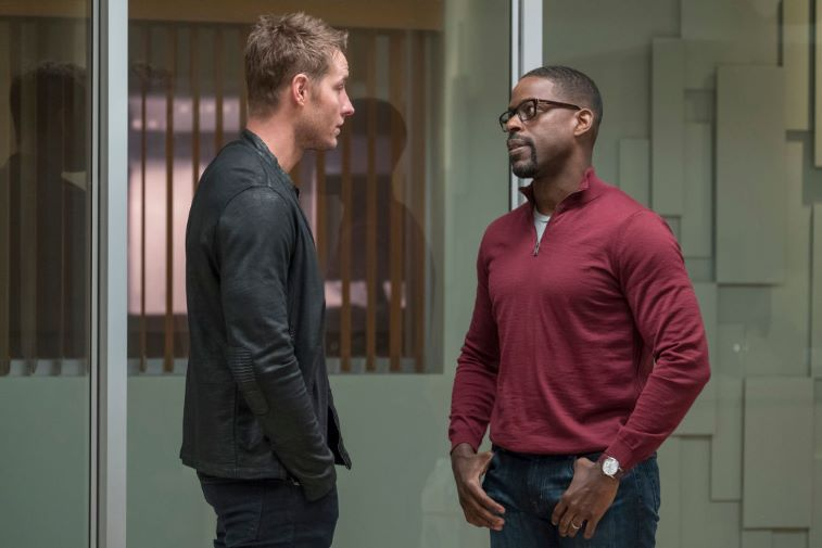 Justin Hartley and Sterling K. Brown