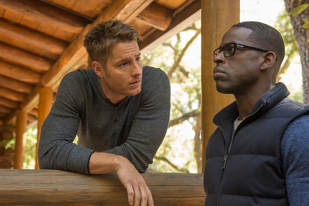 Justin Hartley as Kevin, Sterling K. Brown as Randall This Is Us - Season 1
