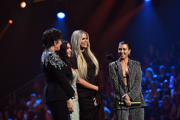 The Kardashians on the red carpet