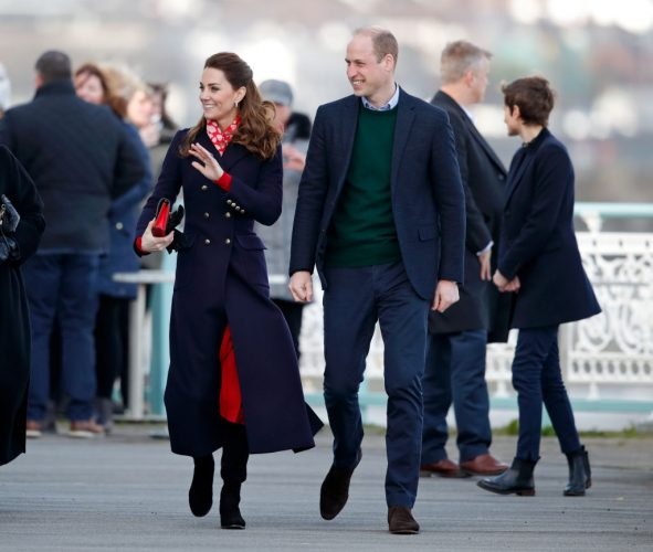Kate Middleton Prince William Meghan Harry Exit