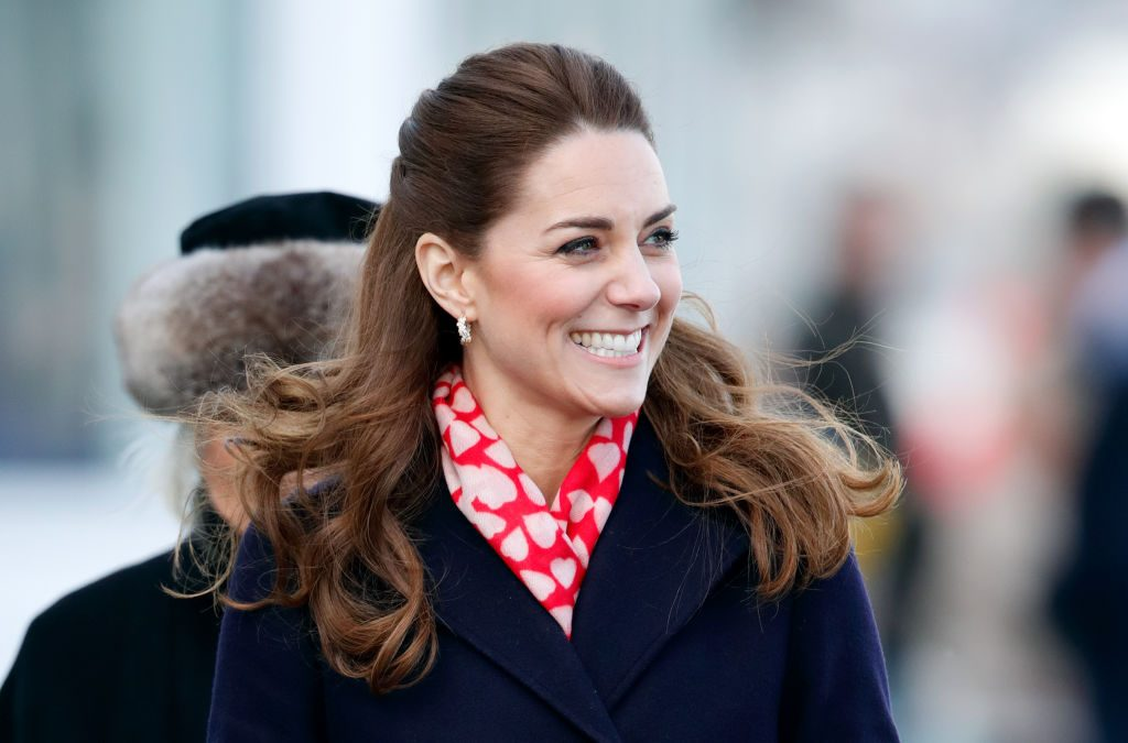Kate Middleton visits the Royal National Lifeboat Institution (RNLI) Mumbles Lifeboat station on Mumbles Pier