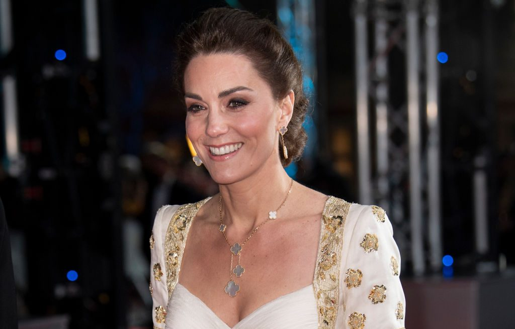 Kate Middleton attends the EE British Academy Film Awards 2020