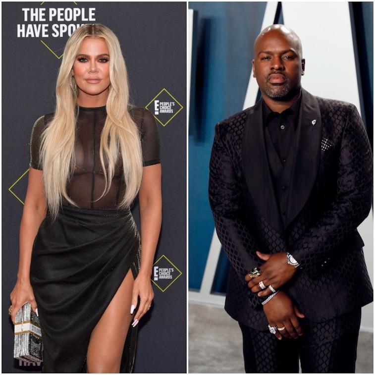 Khloé Kardashian and Corey Gamble
