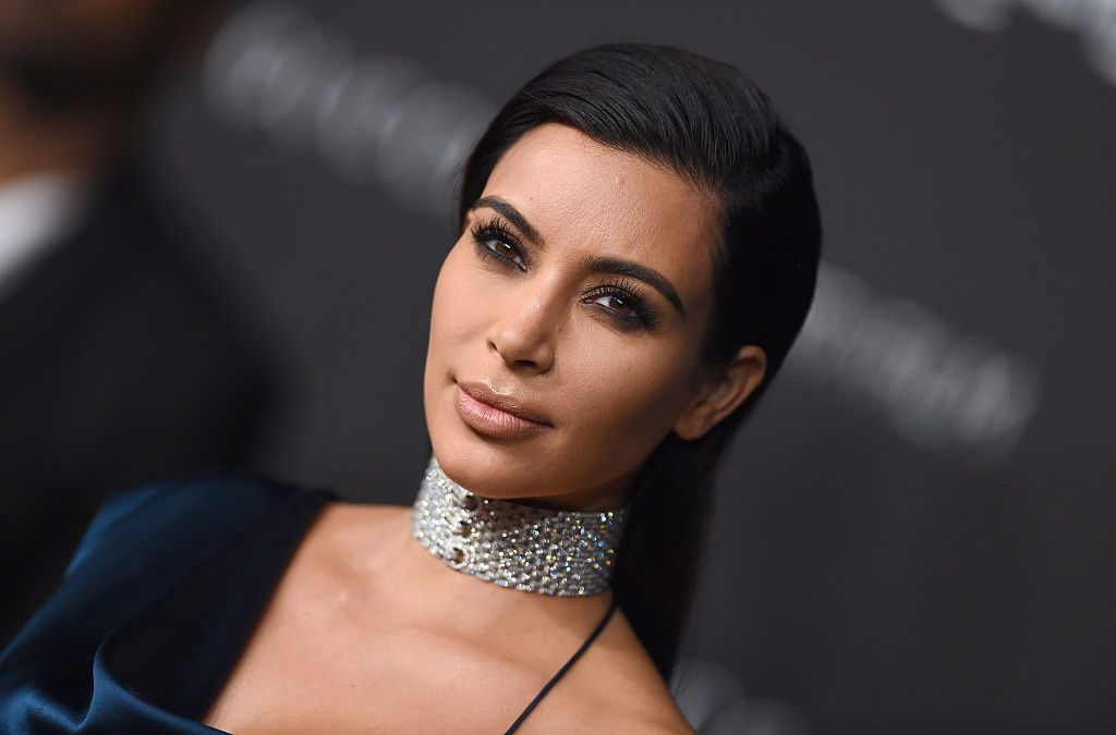 Kim Kardashian attends the 2014 LACMA Art + Film Gala.