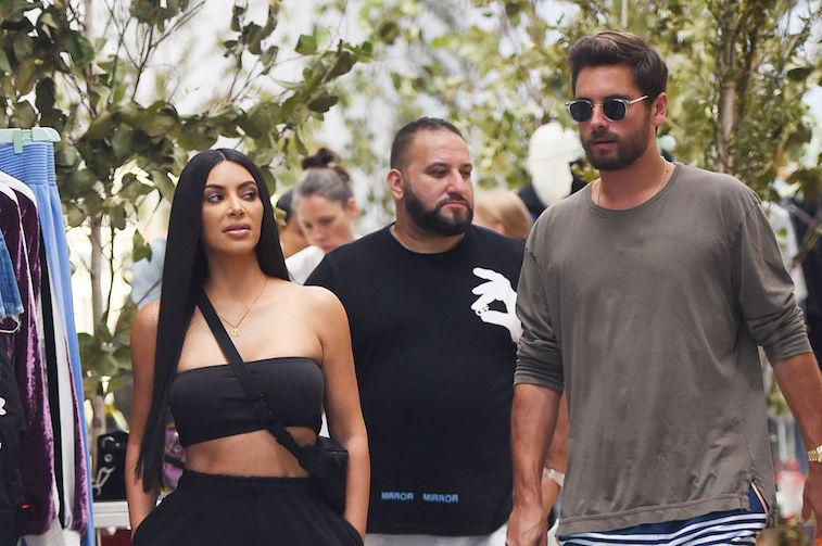 Kim Kardashian West and Scott Disick