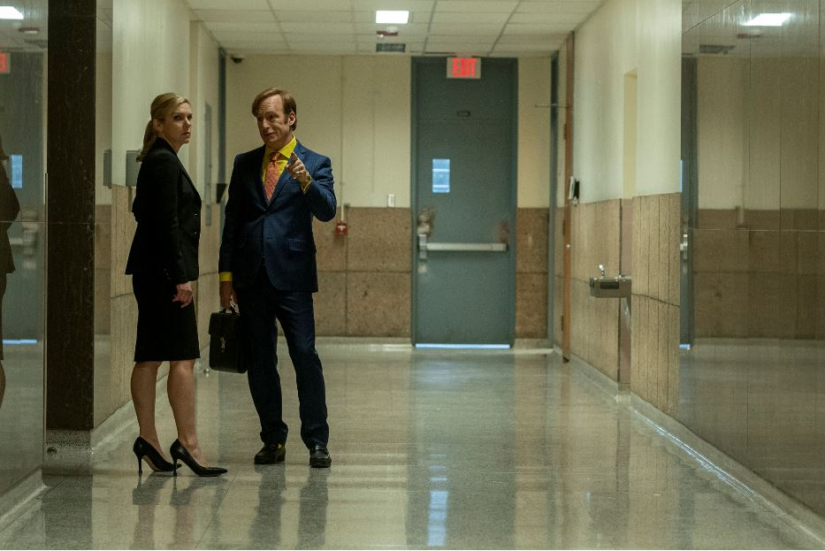 Kim and Jimmy Better Call Saul