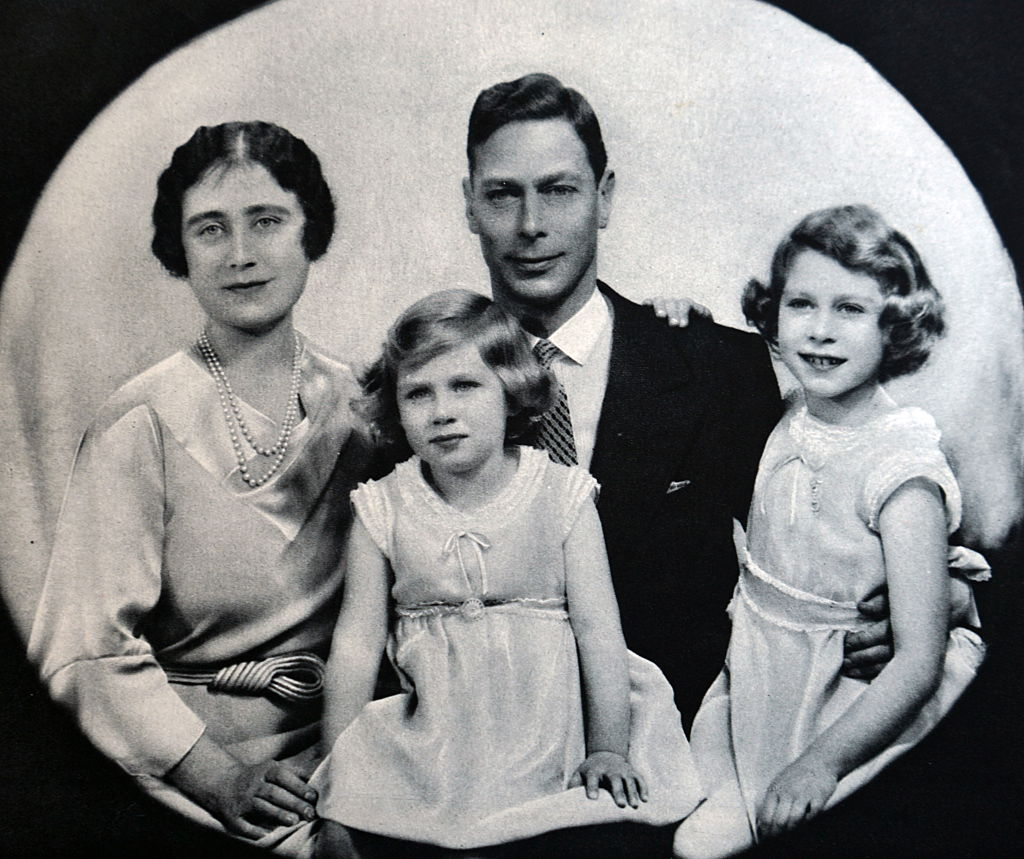 King George and family